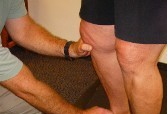 Therapy on Knee - Functional Manual Therapy™